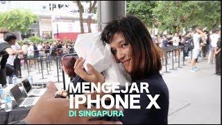 Mengejar iPhone X - Bermalam di Depan Apple Store Singapura (Vlog 16)