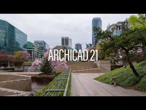 Modeling the Stairs on Robson Square –Classics Remodeled in ARCHICAD