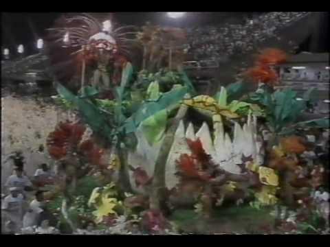 Estácio de Sá 1992 Campeãs da Sapucaí Rede Manchete