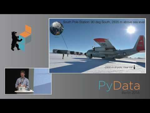 Jakob van Santen - The IceCube data pipeline from the South Pole to publication