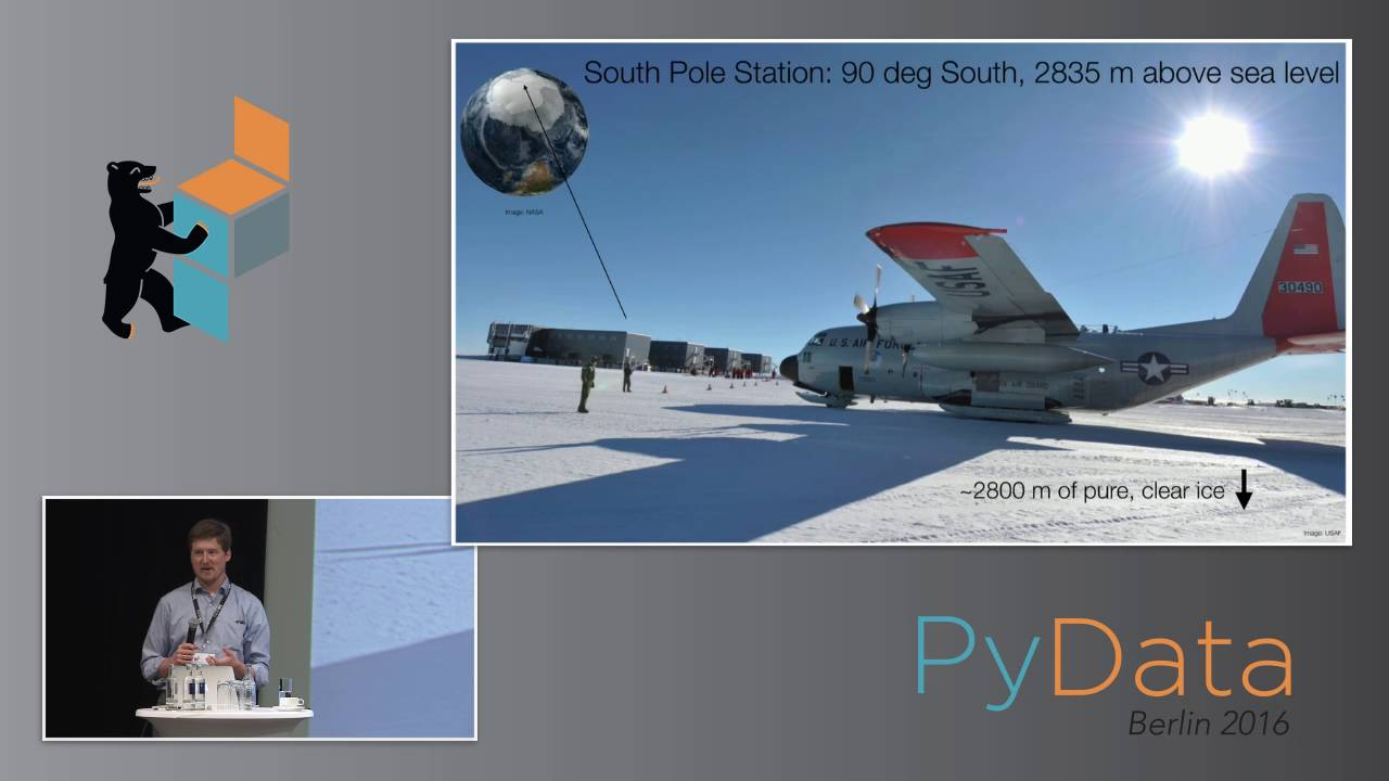 Image from The IceCube data pipeline from the South Pole to publication