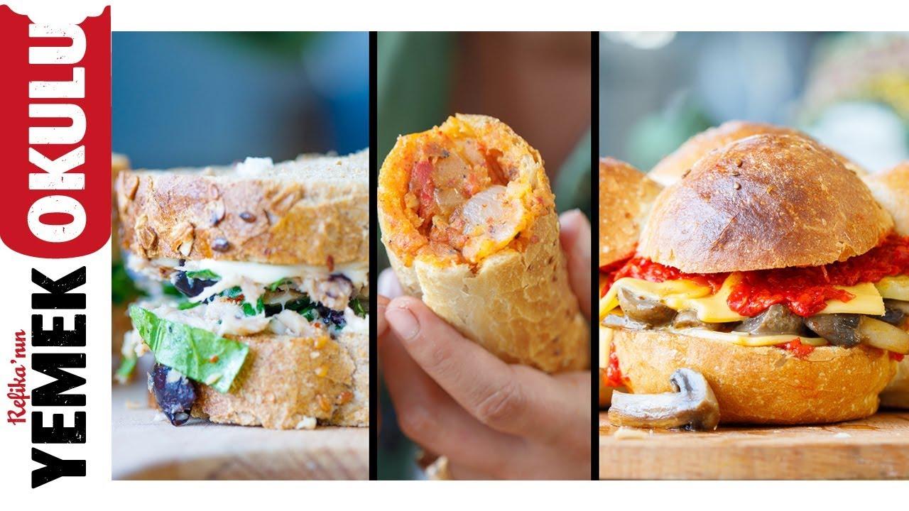 Öğlen Yiyeyim Bütün Gün Acıkmayayım Sandviçleri   Öğrenci Evi Yemekleri