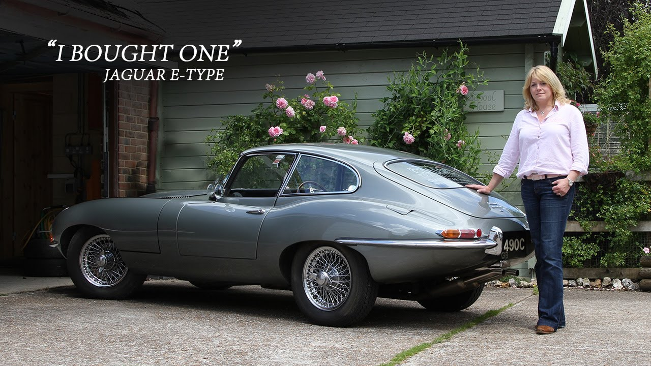 jaguar e-type series one - i bought one | sarah dowding - youtube