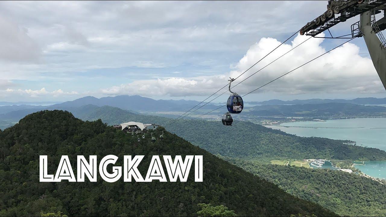 Langkawi Cable Car Sky Bridge Tour 2017 Youtube
