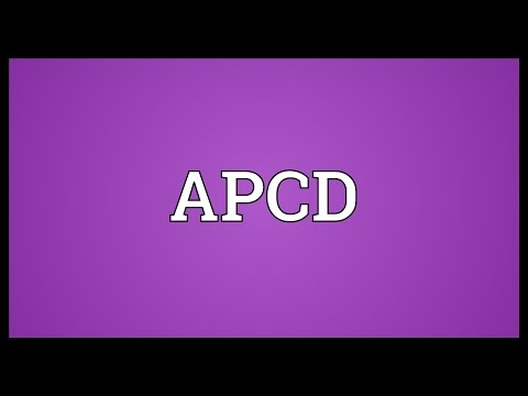 APCD Meaning