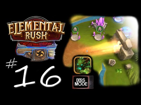"Elemental Rush [Ep16] ► ""Activate 4th Element"" - Android / iOS : mobile RTS"
