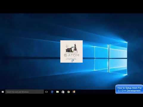 How to Setup Atom For C / C++ Development on Windows 10 thumbnail