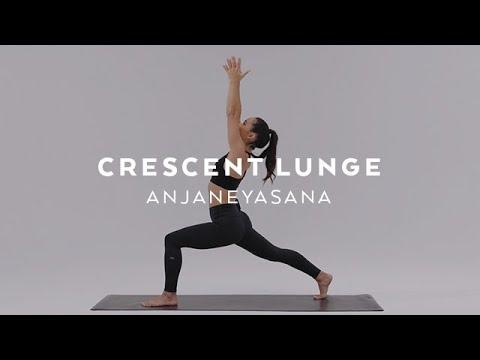 How to do Crescent Lunge | Anjaneyasana Tutorial with Briohny Smyth