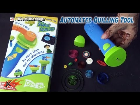 Unboxing Automated Paper Quilling Tool | Super Quiller Tool | How to Use  | JK Arts 860