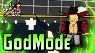 GOD MODE Mihawk from One Piece in Anime Cross 2! | Roblox