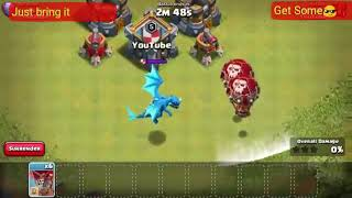 Electro Max Dragon Vs New Max Troops