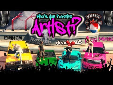 GTA5: Artist/Musician Theme Stream! Carshow & Playlist!