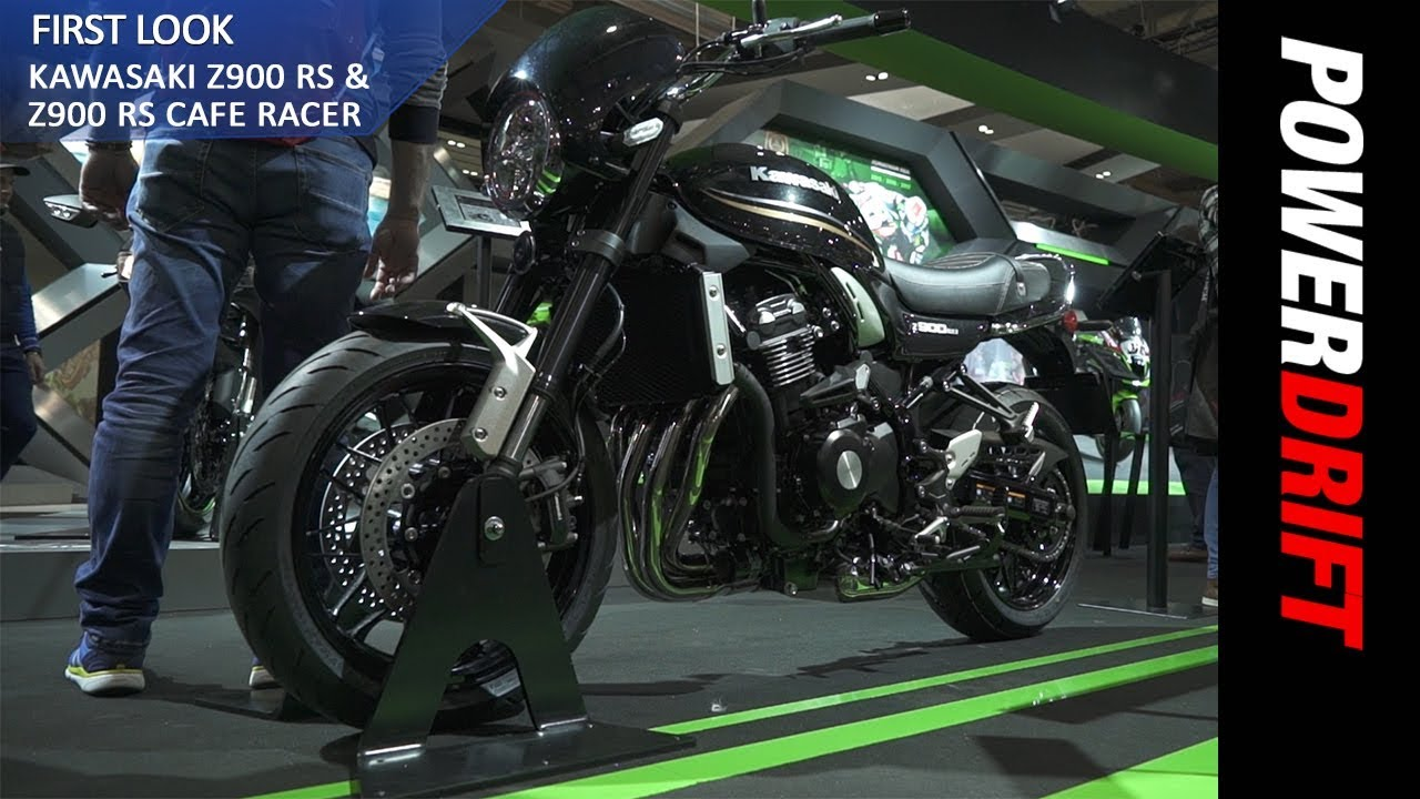 2018 Kawasaki Z900 RS Cafe Racer EICMA 2017 PowerDrift