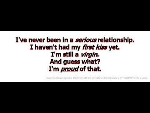 i never had a relationship