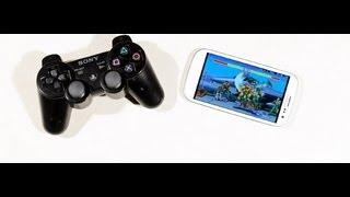 Comment jouer avec une manette PS3 sur smartphone et tablette Android ?