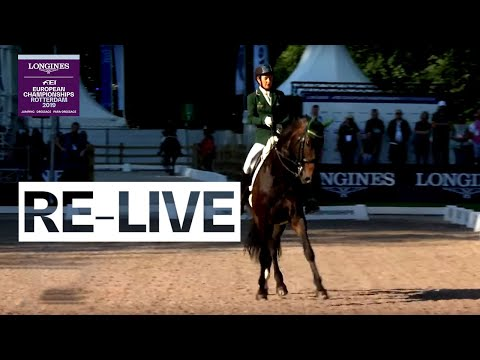 LIVE 🔴 | Para-Dressage (Grade V) | Team | FEI European Championships 2019 (Rotterdam)