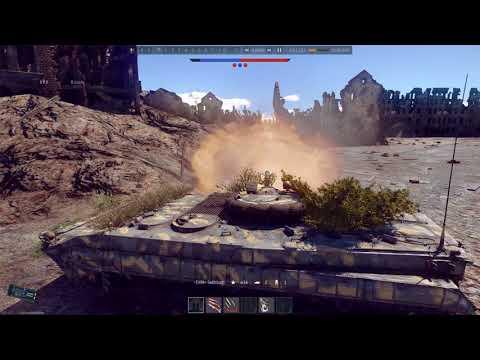 BMP-1 kills four MBTs in Berlin (War Thunder)