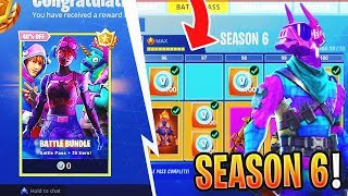 *NEW* How To UNLOCK SEASON 6 BATTLE PASS Free In FORTNITE! (Fortnite Season 6 Battle Pass & Skins!)