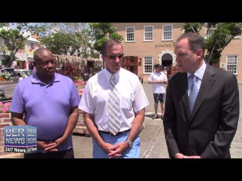 Premier Dunkley Visits Butterfield Bank Staff, June 10 2015