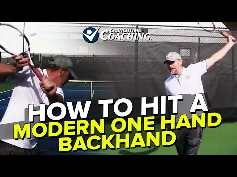 Baixar Backhand Lesson: Ultimate Guide to a Modern One Hand Backhand