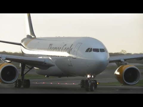 Autumn Morning Plane Spotting at Manchester Airport, MAN   17-11-17