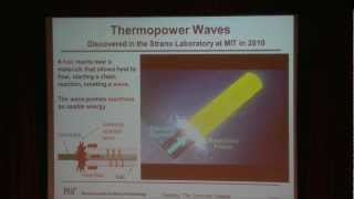 Harnessing the Energy of Thermopower Waves: Dr. Michael Strano at TEDxEmbryRiddle