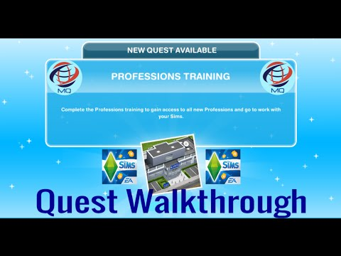 Download The Sims FreePlay - Professions Training Quest Walkthrough (Police Station Update!)