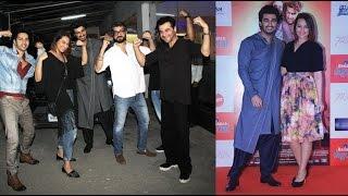 Tevar Movie 2015   Sonakshi Sinha, Arjun Kapoor, Varun Dhawan At Special Screening Of Tevar