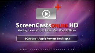 SCO0286 - Apple Remote Desktop 3