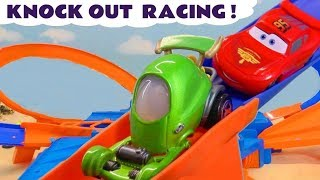 Lets Race Family Fun For Kids With Disney Mcqueen And Hot Wheels Tt4u