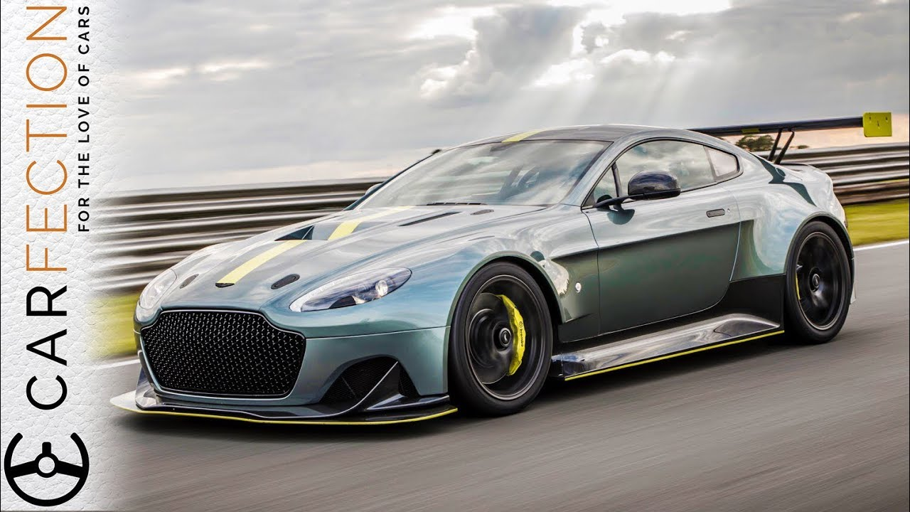 EXCLUSIVE: Aston Martin Vantage AMR Pro, Driven On Track - Carfection