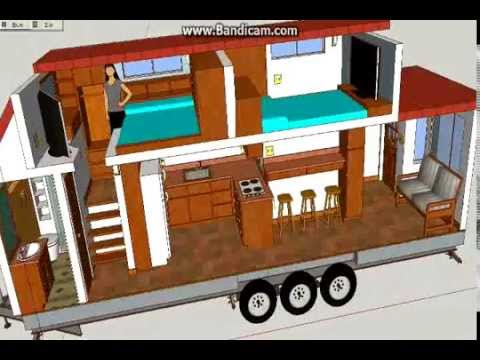 A not so tiny tiny house tiny house design using for Two bedroom tiny home