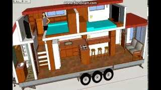 A Not So Tiny Tiny House - Tiny House Design Using Sketchup