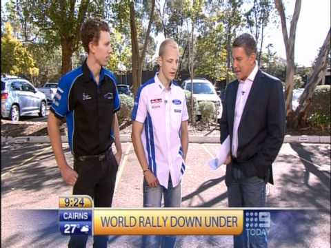 Brendan Reeves on Ch9 Today Show - Sunday 4th of September 2011