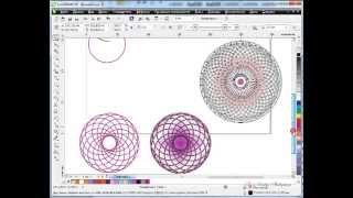 Видео уроки CorelDraw  Инструмент Эллипс