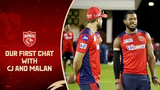 Our first chat with CJ and Malan! 😍
