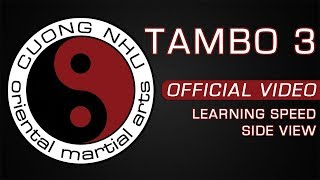 Cuong Nhu Tambo 3 - Official Kata - Learning Speed - Side View