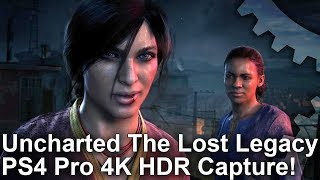 [4K HDR 60fps] Uncharted: The Lost Legacy 60fps Gameplay!
