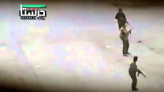 5 6 Harasta Damascis أوغاريت حرستا ريف دمشق , اطلاق النار عشوائيا  لترهيب المارة صباح الامتحانات