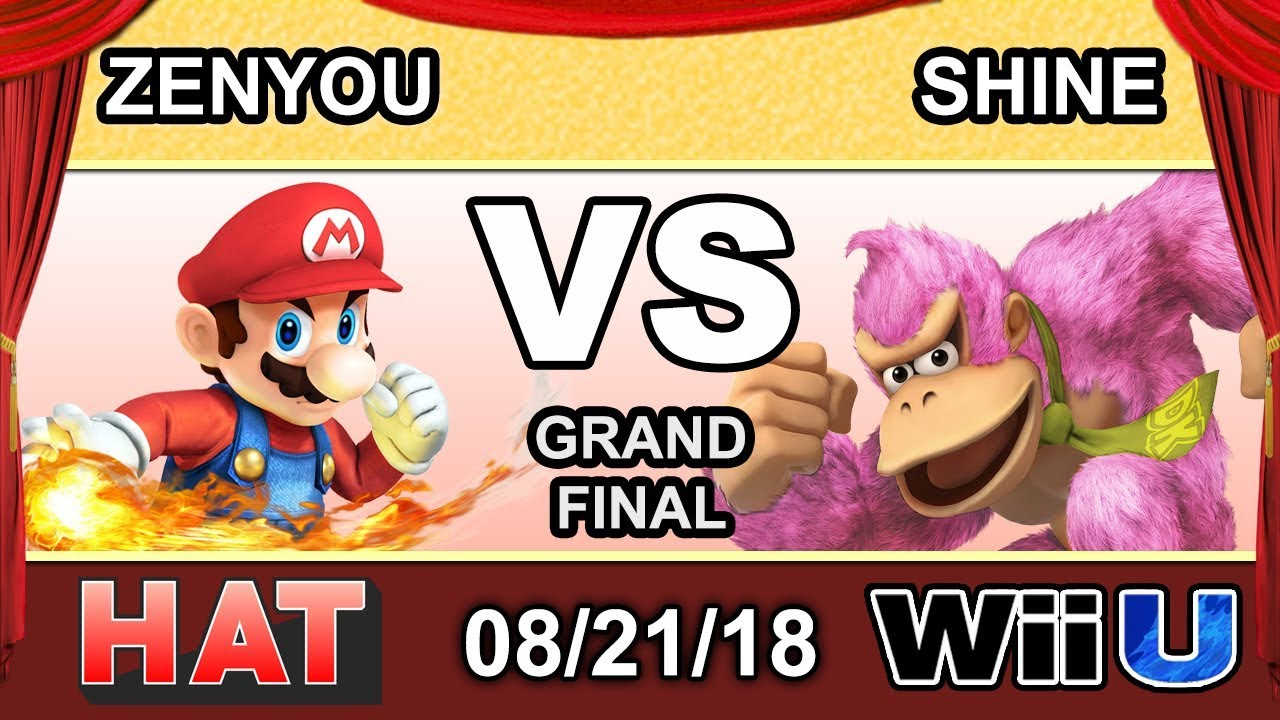 Download HAT 35 - eM   Zenyou (Mario) Vs. LH   ShiNe (Donkey Kong) Grand Finals - Smash 4