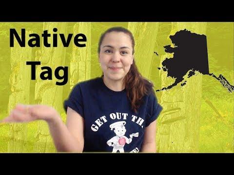 Alaska Native Tag | Haida