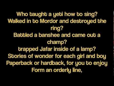 Wizard of the Year  Gilderoy Lyrics Starkid
