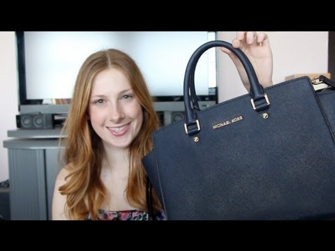 ny livsstil att köpa tidlös design Michael Kors Large Selma Bag Review - YouTube