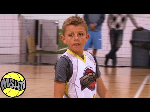 8th Grader Ozzie Smith has CRAZY HANDLES - Elite Basketball Circuit Mixtape