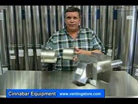 Z Vent Z Flex Wall Thimble For Boiler Venting Youtube