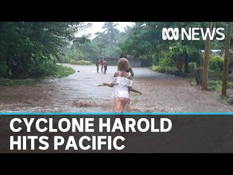 Cyclone Harold Devastates Pacific Island Nations | ABC News