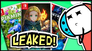 NEW Nintendo Switch Leaks Are Getting CRAZY! | The Next Nintendo Direct?!