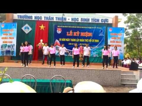 Dance: Mr.Chu-Tôi Yêu Việt Nam 12A12 (14-15) THPT TX Quảng Trị 26/3