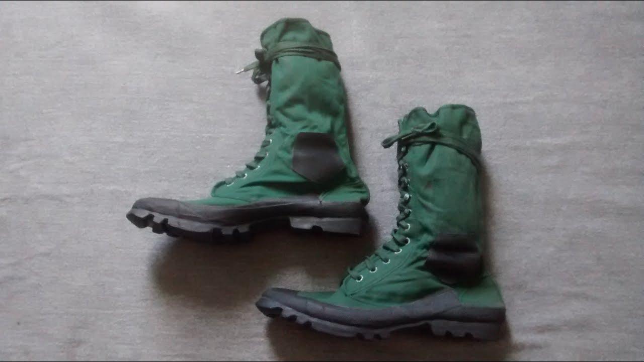 British Jungle Boots - YouTube