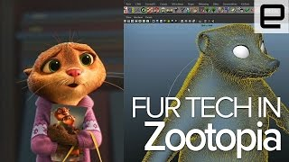Zootopia's Fur Technology